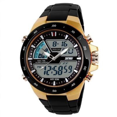 Fleetwood Skmei1016-G Chronograph Analog-Digital Watch  - For Men, Boys