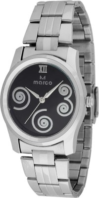 Marco MR-LR068-BLK-CH Marco Analog Watch  - For Women
