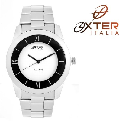 Oxter Wh-Bk Detroet New Colletion Analog Watch  - For Men, Boys