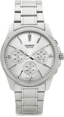 Casio A837 Enticer Analog Watch - For Men