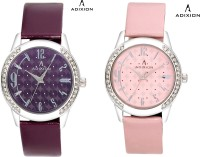 Adixion 9406SL67 Combo New Stainless Steel Analog Watch  - For Women