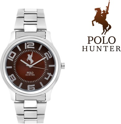 Polo Hunter Sparkle Stylish Brown Petrol Collection Analog Watch  - For Men, Boys