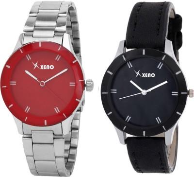 Xeno ZD000239CL Red Black Combo Women Analog Watch  - For Girls, Women