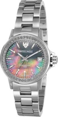 Swiss Eagle SE-6064-11 Analog Watch  - For Women