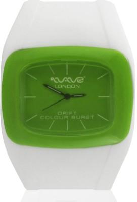 Wave London Wave London Drift Colour Burst White & Green Watch (Wl-Cb-Wg) Drift Colour Burst Analog Watch  - For Women