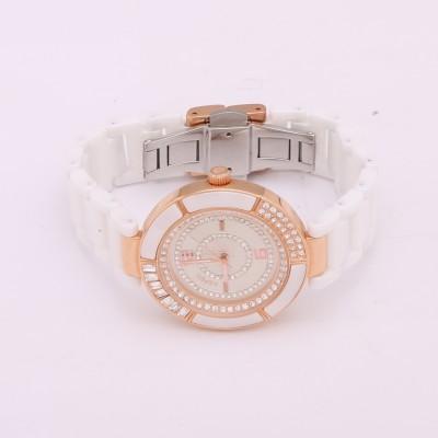 Aspen Ap1805 Ceramic Analog Watch  - For Women