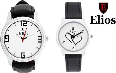 Elios EWMC13-35 Couple Combo Analog Watch  - For Men, Women