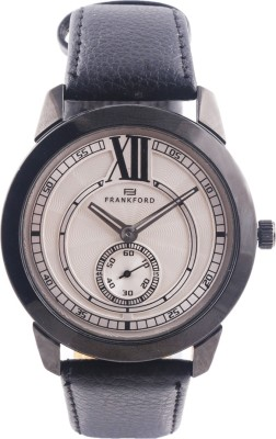 Frankford Ffgs-17 Sec 6 Wh Fashion Analog Watch  - For Couple