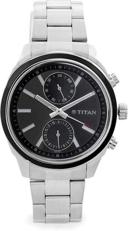 Titan 1733KM01 Analog Watch For Men