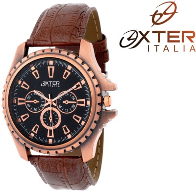 Oxter Ultimate Enticer Brown Elegant Antique Analog Watch  - For Men, Boys