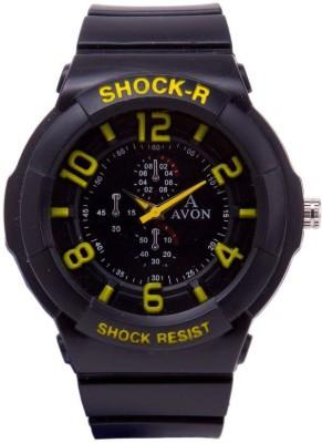 A Avon PK_34 Black Analog Watch  - For Men