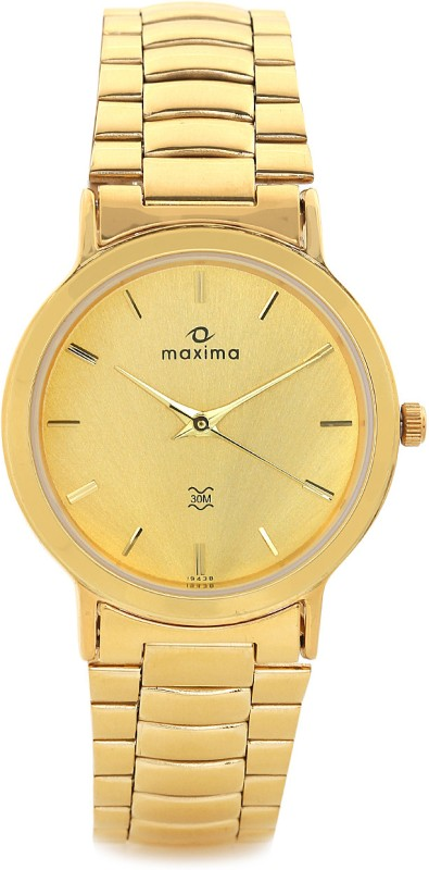 Maxima 19438CMGY Analog Watch For Men