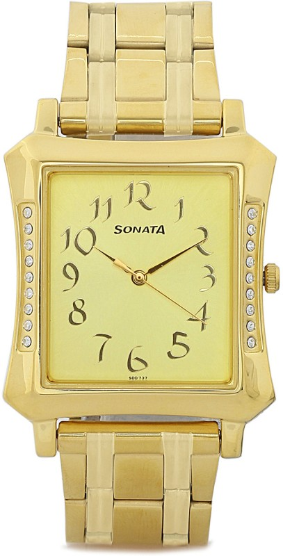 Sonata 7106YM01 Analog Watch For Men