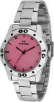 Marco MR-LR073-PNK-CH Marco Analog Watch  - For Women