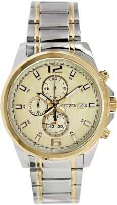 Citizen AN3554-54P Champagne Dial Analog Watch - For Men