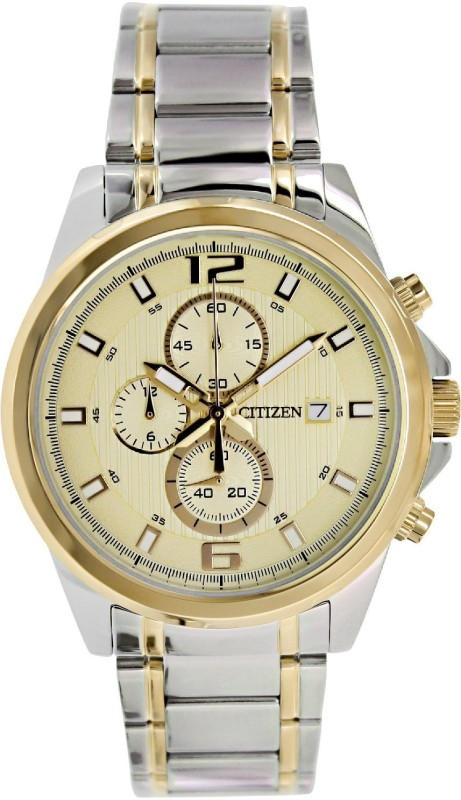 Citizen AN3554 54P Champagne Dial Analog Watch For Men
