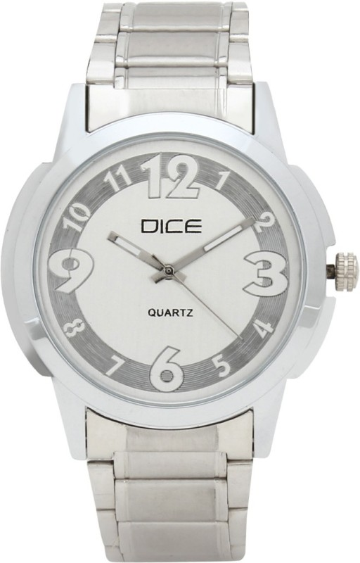 Dice DCMLRD35SSASLVWIT287 Analog Watch For Men