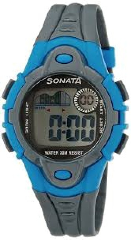Sonata NH87012PP03 Digital Watch For Men
