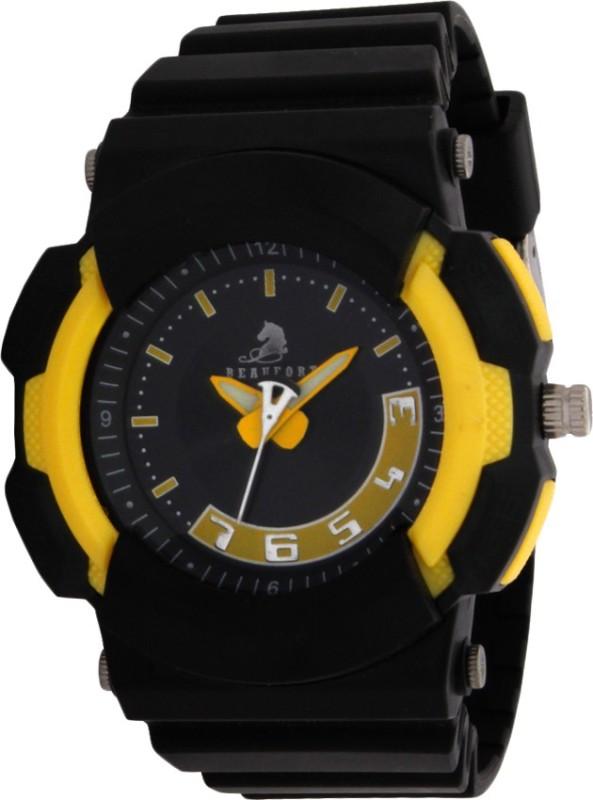 Beaufort BT 1153 YEL BLK1084 Analog Watch For Men