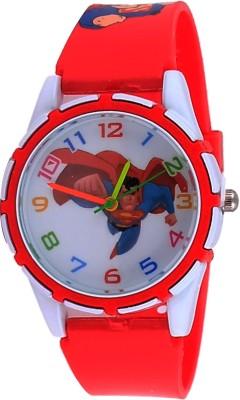 Super Drool ST2634_WT_REDSMJAN Analog Watch  - For Boys, Girls