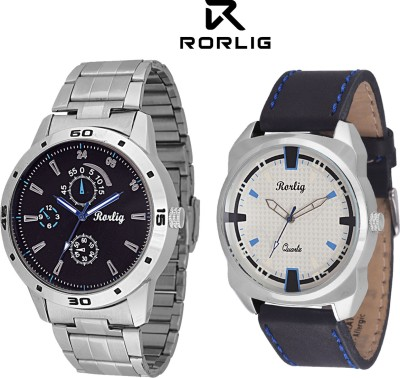Rorlig RR_5025 Combo Analog Watch - For Men, Boys