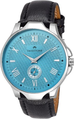 SWISSTONE GR022-BLU-BLK Analog Watch  - For Men, Boys