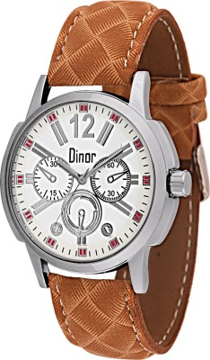 Dinor ck-8008 Tagged Analog Watch  - For Men, Boys