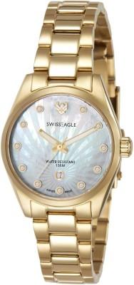 Swiss Eagle SE-6048-44 Analog Watch  - For Women