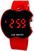 COSMIC APPLE SHAPE LED WITH RED DIGITAL LIGHT RED STRAP Digital