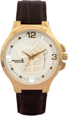 Whatever It Takes P5047 Signed Analog Watch  - For Men