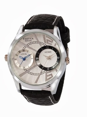 Exotica SXlines EF-80-Dual-White Analog Watch  - For Men
