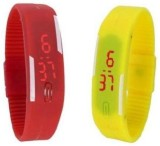 i-gadgets silicon red and yellow led Dig...