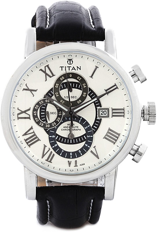 Titan NH9234SL01 Classique Analog Watch For Men