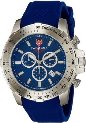 Swiss Eagle SE-9065-03 Analog Watch  - For Men