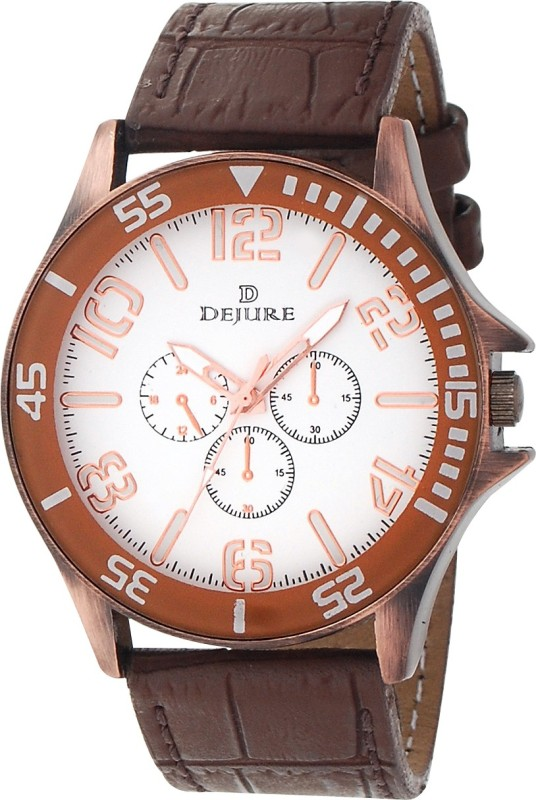 Dejure DJG10066CPWT Analog Watch For Men