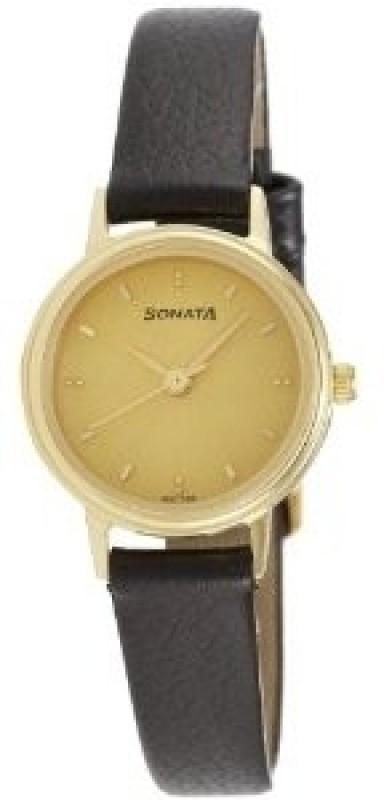Sonata 8096YL02 Analog Watch For Women