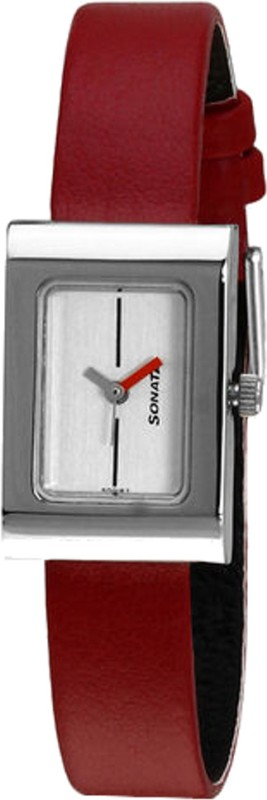 Sonata 8102SL03C Analog Watch For Women