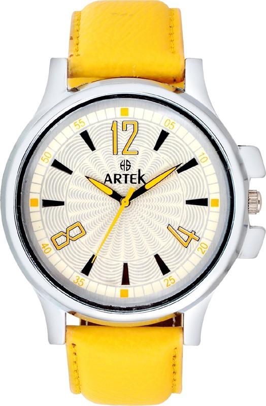 Artek ARTK 1022 0 YELLOW Analog Watch For Men