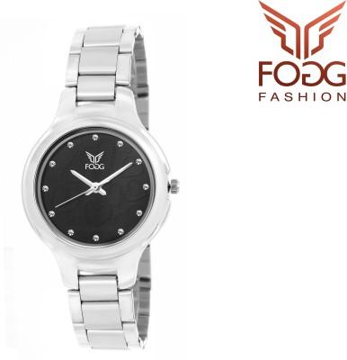 FOGG 4037-BK-CK Analog Watch  - For Girls, Women