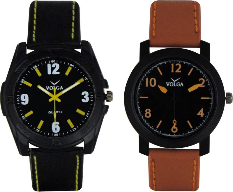 VOLGA Branded Leather Quality Designer Dial Diwali WATEN6XKFMUMF9PH