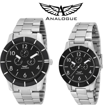 ANALOGUE A-133+960 Chronograph Analog Watch  - For Men, Boys, Girls, Women, Couple