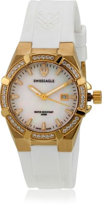 Swiss Eagle SE-6041-05 Special Collection Analog Watch  - For Women