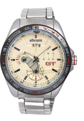 Abrazo GT-METAL-WH Analog Watch - For Men