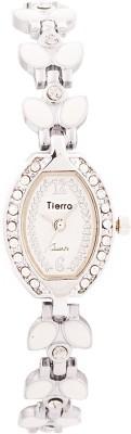 Tierra NSL-102WT Exotic Leaf Analog Watch  - For Women, Girls