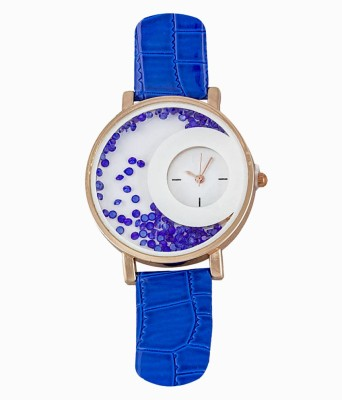 RBS Online Trading Company MxRe_BLUE_MovingBeeds Analog Watch  - For Women, Girls