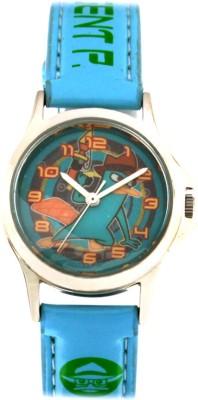 Disney 3K0906U-PF (BLUE) Analog Watch  - For Boys, Girls