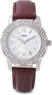 Timex T2N152 Fashion Analog Watch - For Women