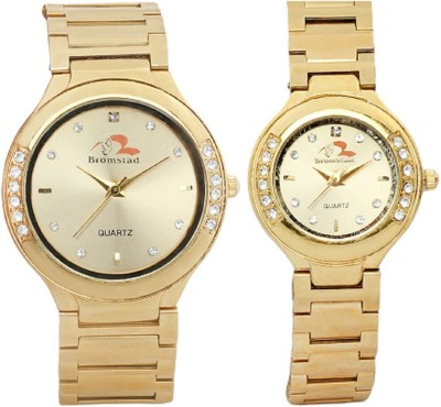 Bromstad 643PG Pair Analog Watch - For Couple