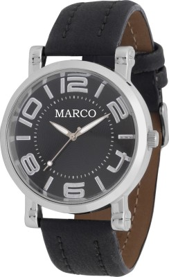 Marco MR-GR046-BLK-BLK Analog Watch  - For Men