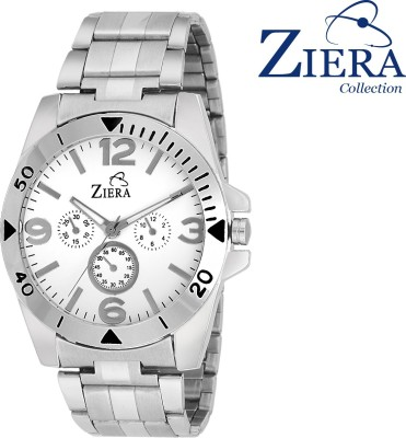 Ziera ZR-2214 Black Costa Collection Analog Watch  - For Boys, Men